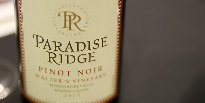 Paradise Ridge Pinot Noir