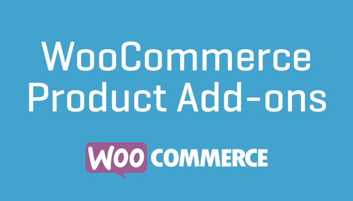 WooCommerce Product Add-ons Cheap Plugin Wordpress Extension Free Updates