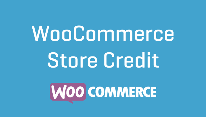 WooCommerce Store Credit Plugin Wordpress Extension Cheap