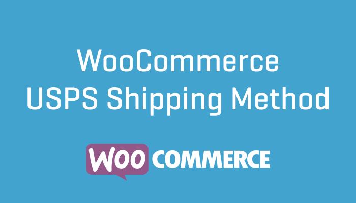 WooCommerce USPS Shipping Method Plugin