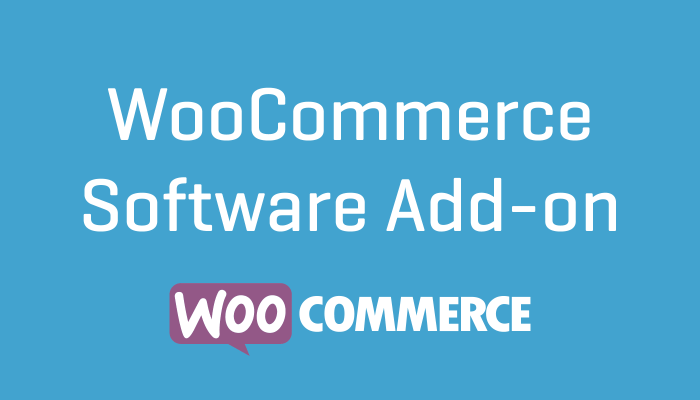 WooCommerce Software Add-on