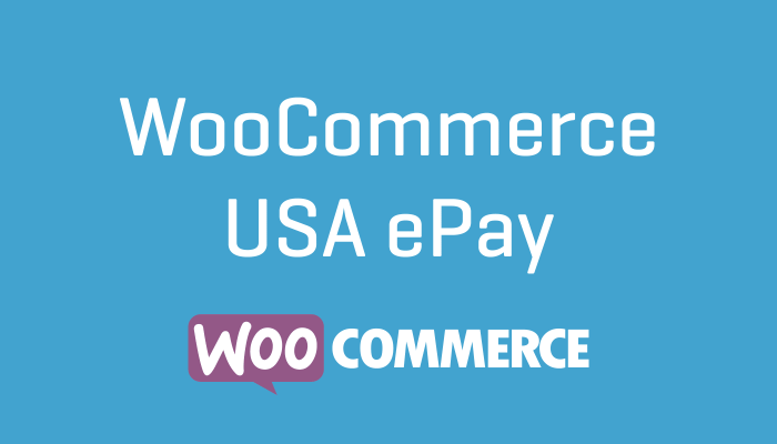 WooCommerce USA ePay Plugin Wordpress Extension