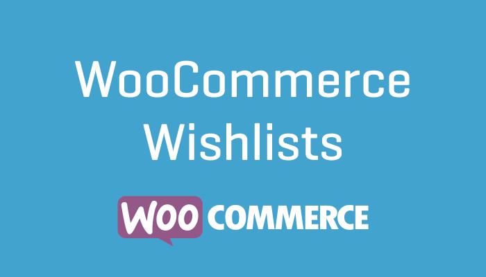 WooCommerce Wishlists Plguin Extension Wordpress