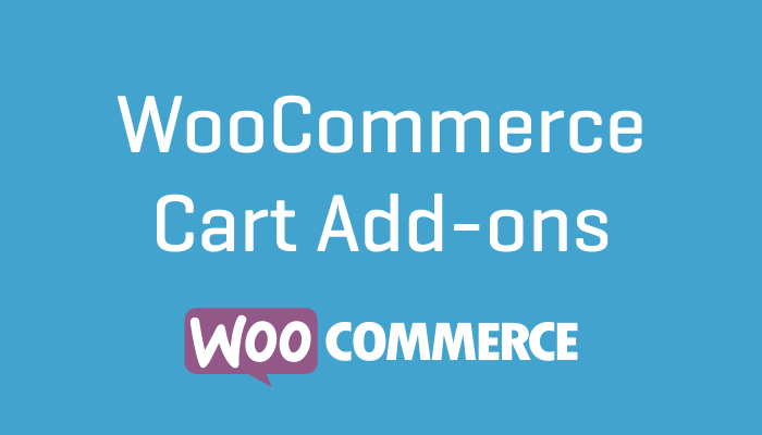 WooCommerce Cart Add-ons
