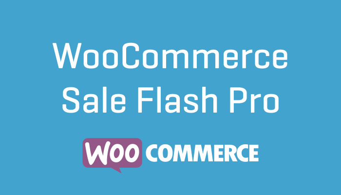 WooCommerce Sale Flash Pro