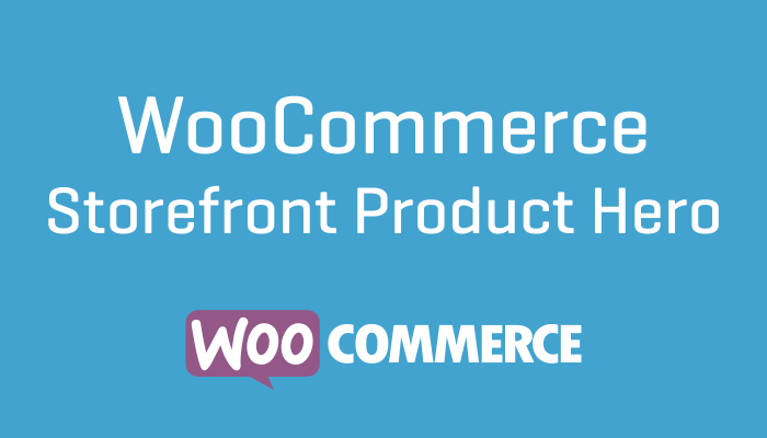 WooCommerce Storefront Product Hero