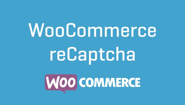 WooCommerce reCaptcha