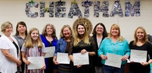 September 2016 Outstanding School District Employees of the Month