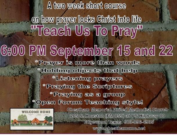 Teach us to pray MEME