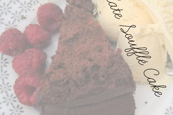Chocolate Soufflé Cake (for breakfast)