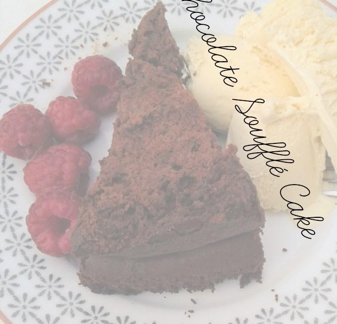 Flourless Chocolate Soufflé Cake