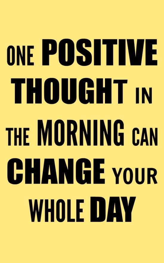 morning routine motivation