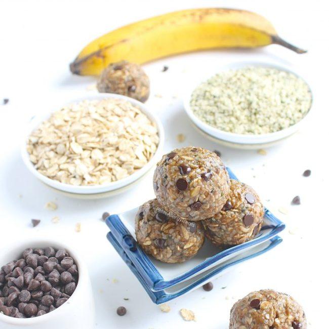 Banana Oat Protein Balls