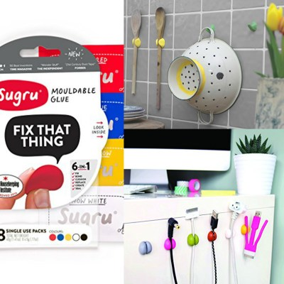 Sugru-moldable glue
