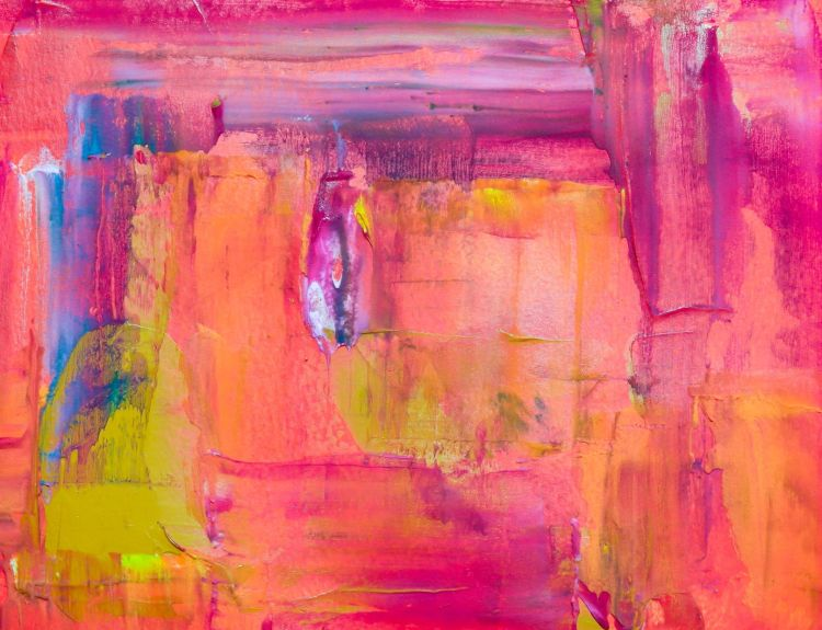 Art therapy relaxation meditative painting