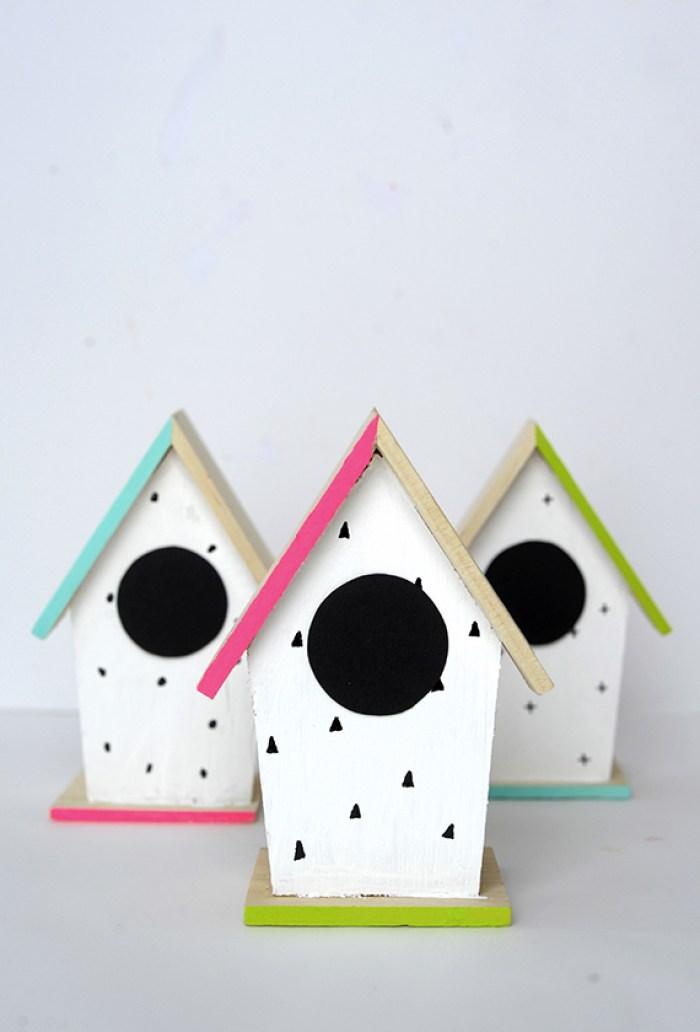 bird houses spring craft