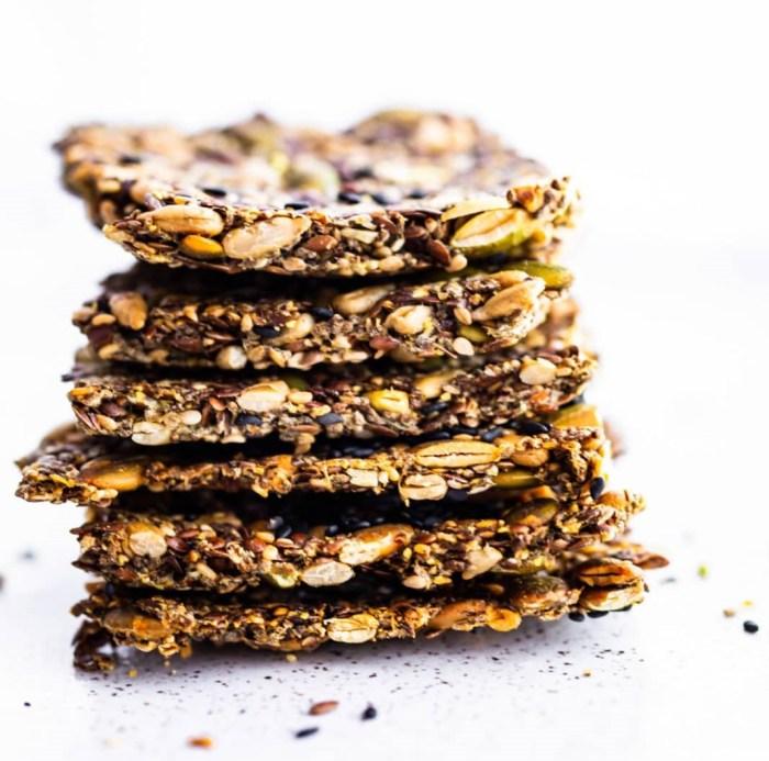 multi seed crackers