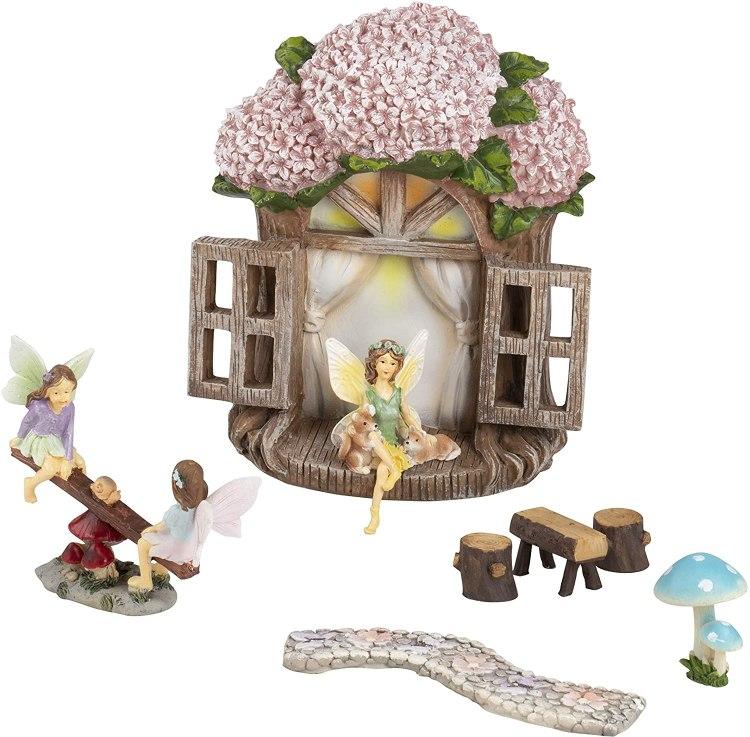 Juvale Fairy Garden Kit Amazon