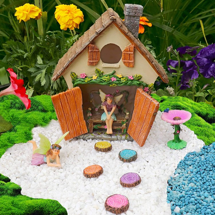 Meadow & Oak Fairy Garden Kit Amazon