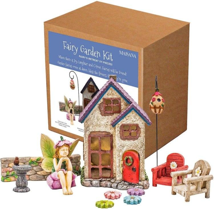Maisana Fairy Garden Kit Amazon