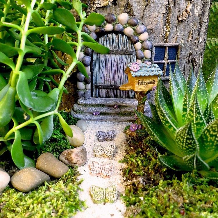 Spritely Gardens Fairy Garden Kit Amazon
