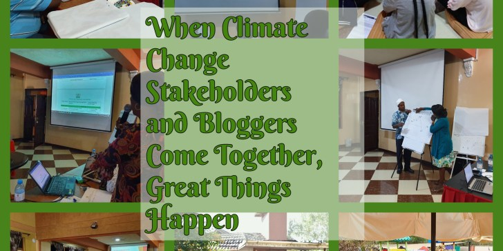 When Climate Change Stakeholders and Bloggers Come Together, Great Things Happen