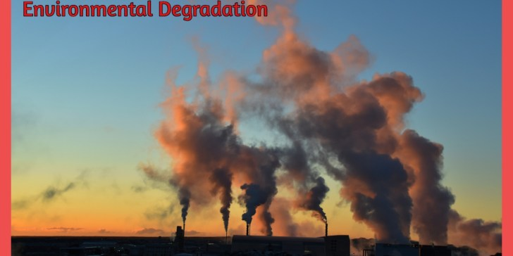 Energy connection to Global Warming and Environmental Degradation