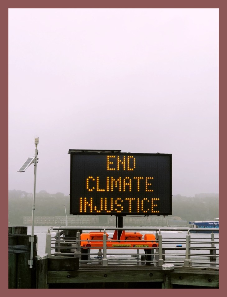 Please end climate injustice