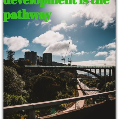 Sustainable development is the pathway