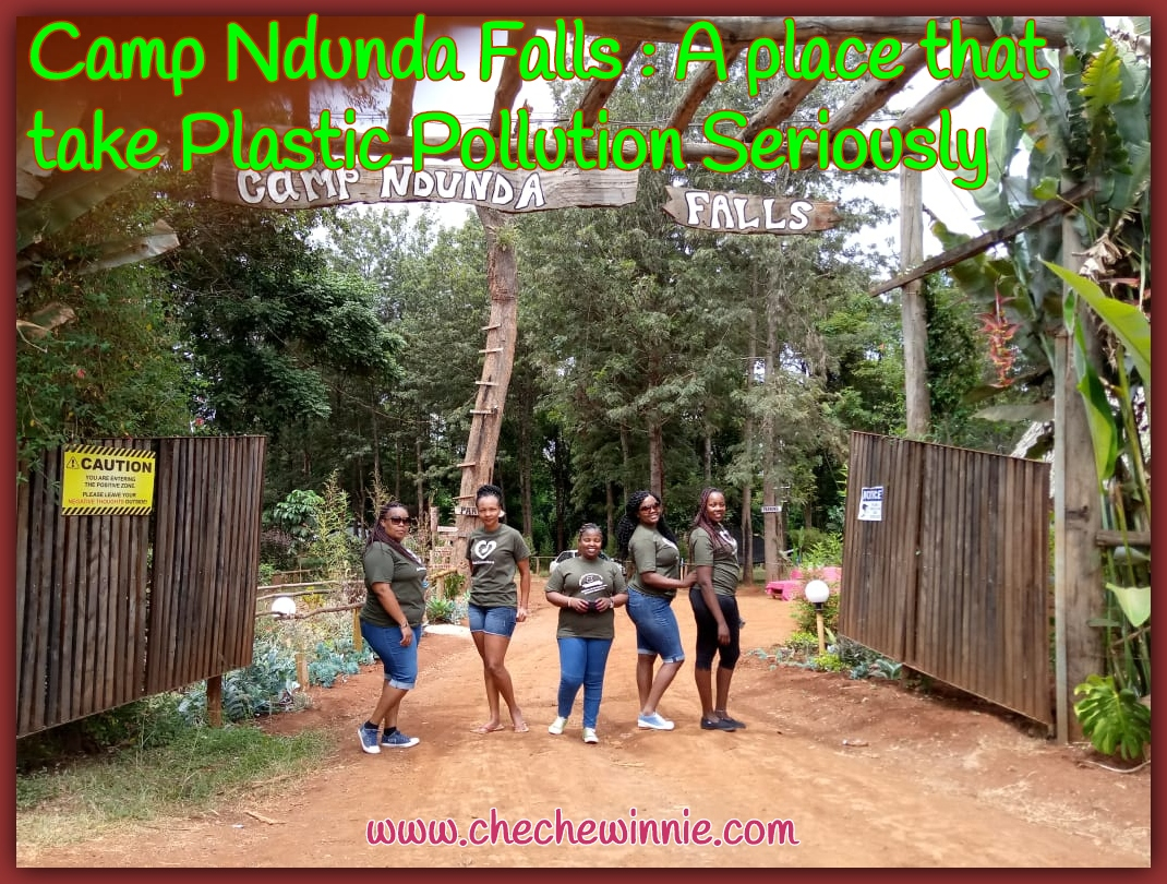 Camp Ndunda Falls _ A place that take Plastic Pollution Seriously