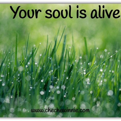 Your soul is alive