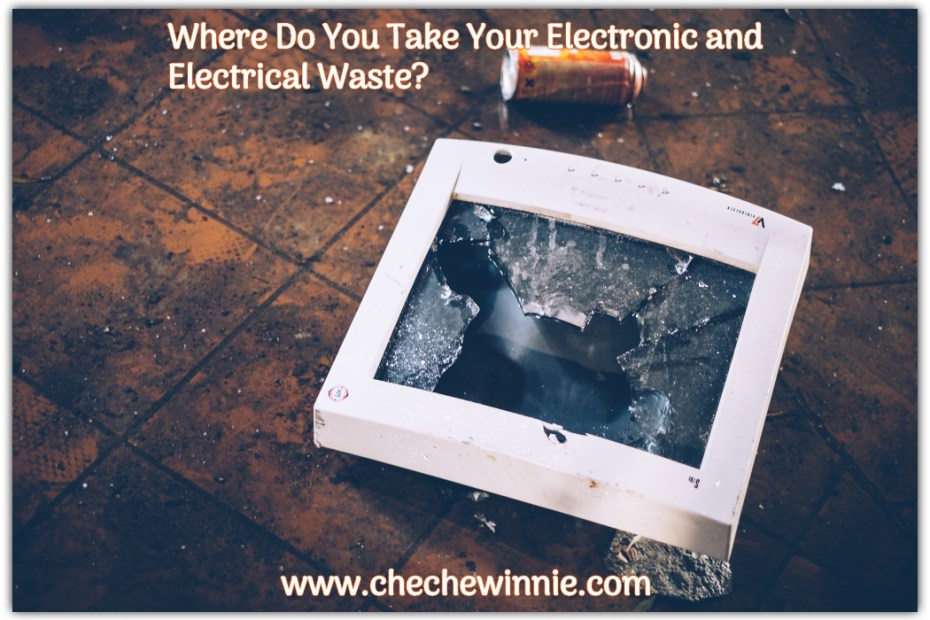 Where Do You Take Your Electronic and Electrical Waste?