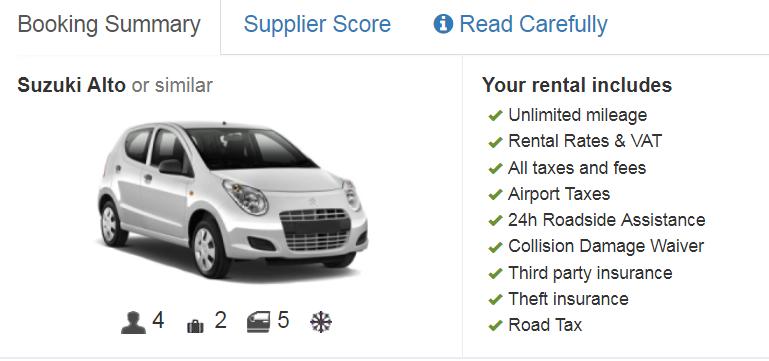 השכרת רכב - מה חשוב שההזמנה תכלול