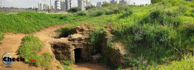 מערות אפקה מסלול טיול