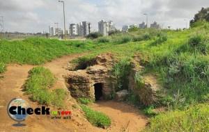 מערות אפקה טיול ליד תל אביב