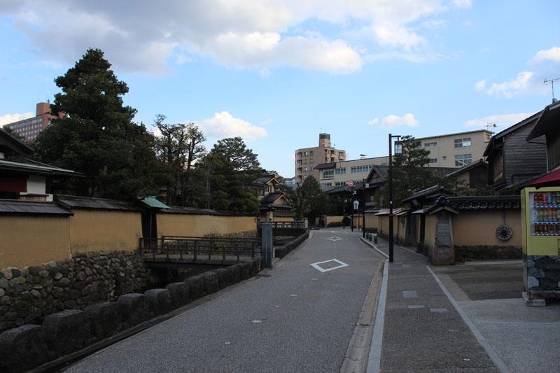 שכונת סמוראים בקנזאווה