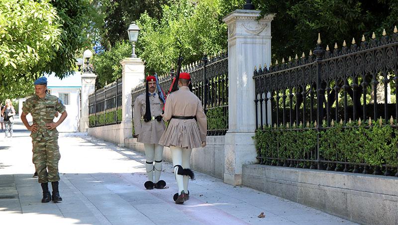 טקס חילופי משמרות באתונה