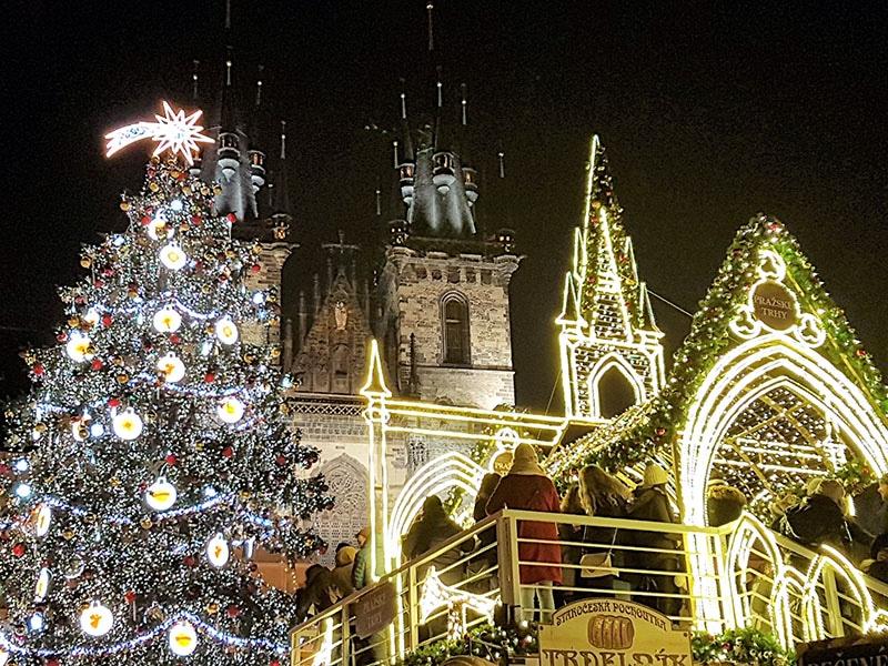 חג המולד בפראג
