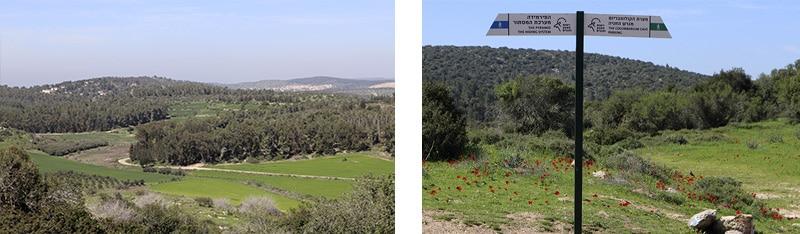 סימון מסלול חורבת מדרס מטה יהודה