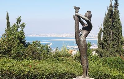 גן הפסלים בחיפה
