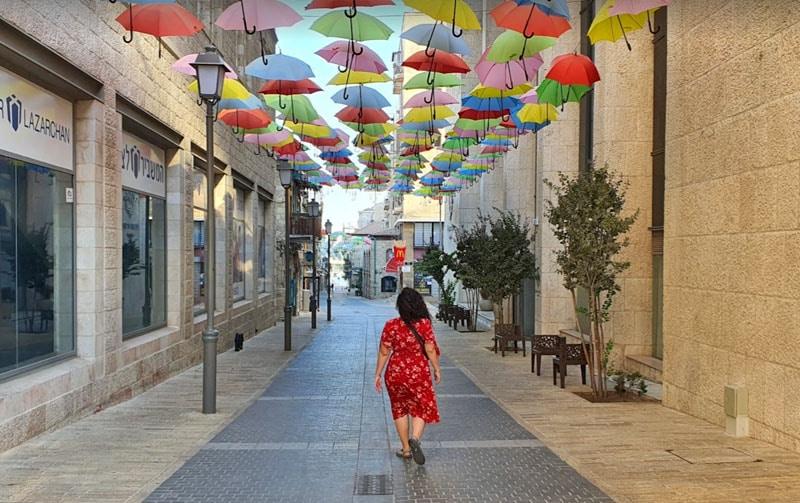 רחוב המטריות בירושלים