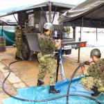 倉敷市 災害 自衛隊風呂 臨時給水場所 どこ 場所 時間帯