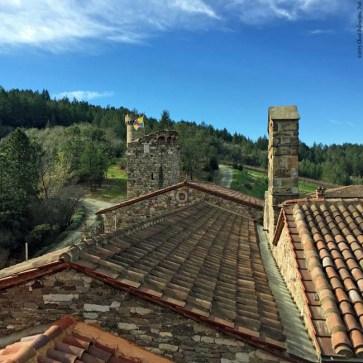 Rooftop of Castello di Amorosa