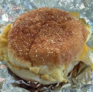 English Muffin Breakfast Sandwich from Model Bakery