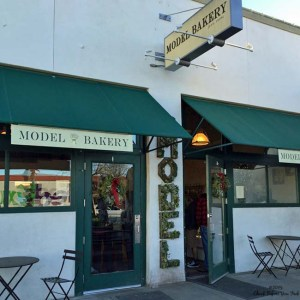 Front entrance to Model Bakery