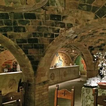 Tasting Room in Castello di Amorosa