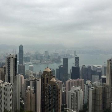 View From Victoria Peak - Hong Kong Island, Hong Kong, China