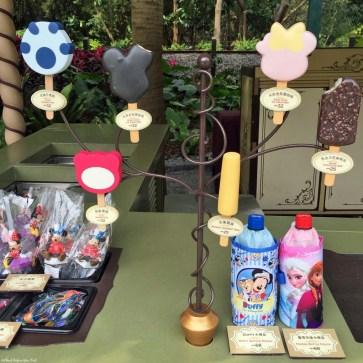 Dessert options at Hong Kong Disneyland - Hong Kong, China