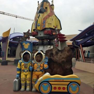 Tomorrowland - Hong Kong Disneyland, Hong Kong, China