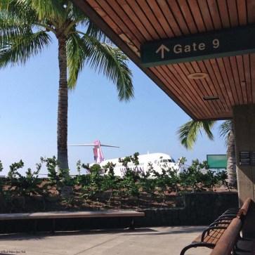 Kona International Airport - Big Island, Hawaii, USA